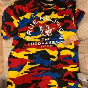 TRUE RELIGION T-Shirt — Prime Camo Crew Neck